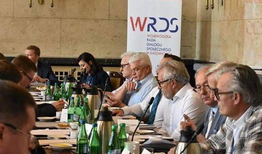 Posiedzenie plenarne Wojewódzkiej Rady Dialogu Społecznego w Katowicach