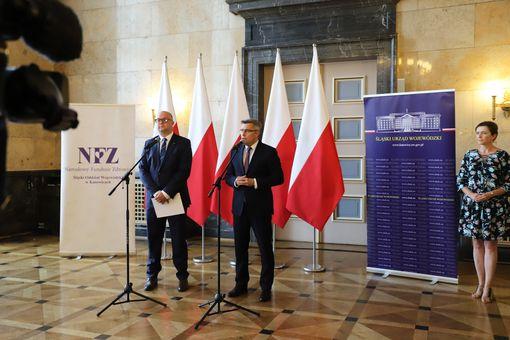 Śląski Urząd Wojewódzki w Katowicach, NFZ