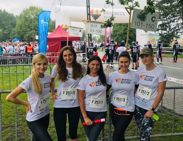 Bieg Poland Business Run 2019 - ekipa KCO