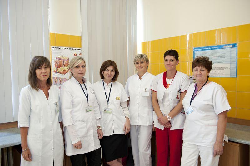 Personel Oddziału Dermatologicznego