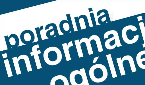 Poradnia Specjalistyczna - informacje ogólne