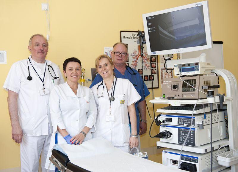 Pracownia Bronchoskopii - personel